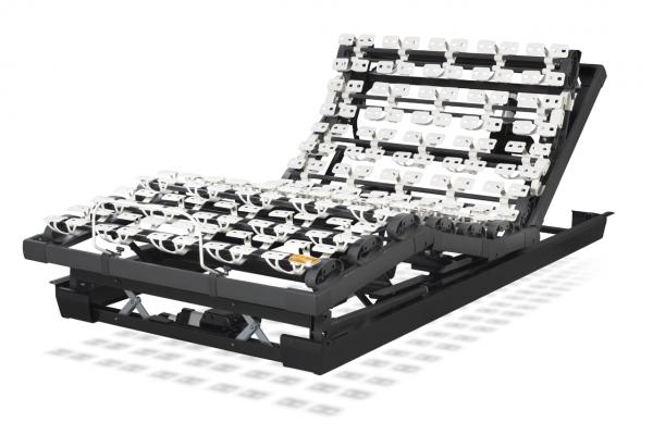 Lattoflex Lattenrost Motorrahmen 293-K mit Verstellmöglichkeiten Kopf, Oberkörper/Rücken, Oberschenkel