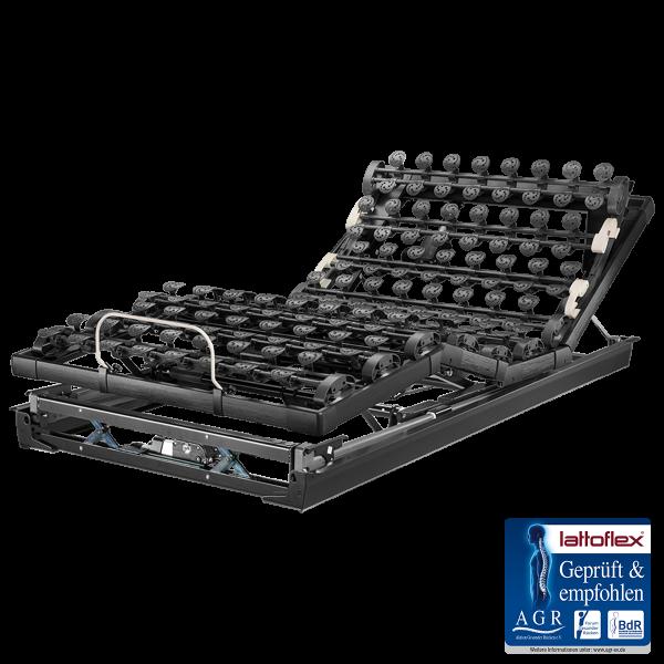 Lattoflex Lattenrost MiS Motorrahmen Thevo 995 mit Verstellmöglichkeit für Kopf, Oberkörper/Rücken, Ober- und Unterschenkel, Körperschräglagerung