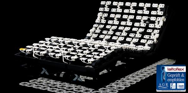 Lattoflex Lattenrost Motorrahmen 200er motorisch mit Extras und Schiebefunktion