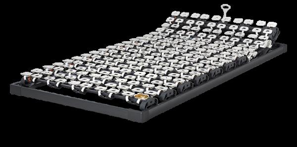 Lattoflex Lattenrost Rahmen 310 mit Verstellmöglichkeiten manuell für Kopf 5-stufig