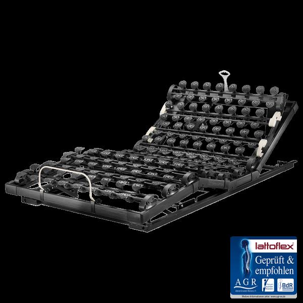 Lattoflex Lattenrost MiS Motorrahmen Thevo 984 mit Verstellmöglichkeit motorisch für Kopf, Oberkörper/Rücken, Ober- und Unterschenkel